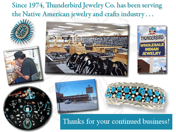7f749084df4b Since 1974, Thunderbird Jewelry Co. has been serving the wholesale Native  American (